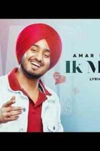 IK Munda Full Punjabi Song Lyrics –Amar Sandhu