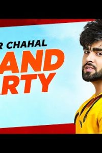 Grand Party punjabi Lyrics – Inder Chahal