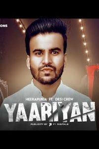 Yaariyan punjabi song Lyrics–Heerapuria