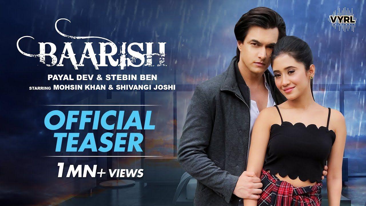 Baarish hindi song Lyrics –Payal Dev, Stebin Ben