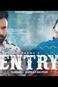 Entry punjabi song Lyrics–Karma Sekhon