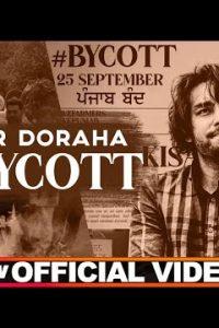 Boycott punjabi song Lyrics–Simar Doraha