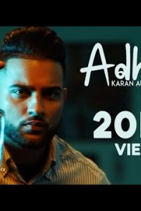 Adhiya punjabi song Lyrics–Karan Aujla