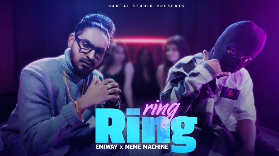 RING RING hindi song Lyrics–Emiway Bantai