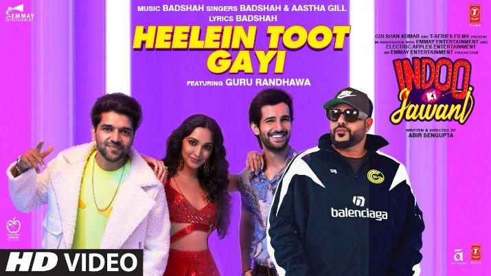 Heelein Toot Gayi song Lyrics–Badshah   Aastha Gill