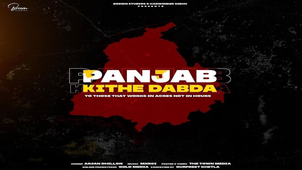 Panjab Kithe Dabda punjabi song Lyrics–Mxrci