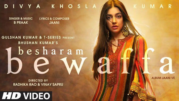 Besharam Bewaffa punjabi song Lyrics–Divya K, Gautam G