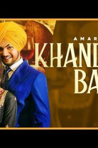 Khandani Bande Lyrics–Amar Sehmbi
