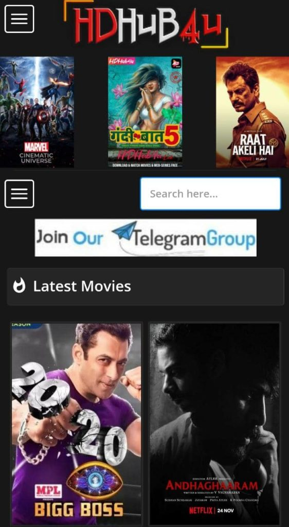 HDhub4u 2021: Download Latest HD Bollywood, Hollywood Dubbed Movies, Web Series & TV Shows Free
