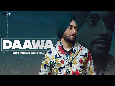 Daawa (ਦਾਅਵਾ) Lyrics Satinder Sartaaj