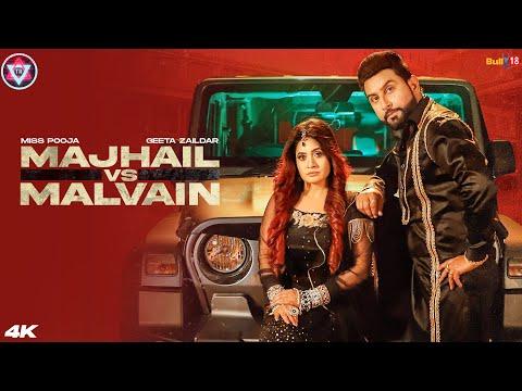 Majhail vs Malvain Lyrics Miss Pooja & Geeta Zaildar