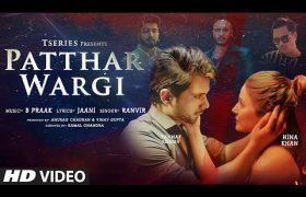 Patthar Wargi lyrics Hina Khan
