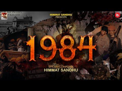 1984 punjabi Lyrics Himmat Sandhu