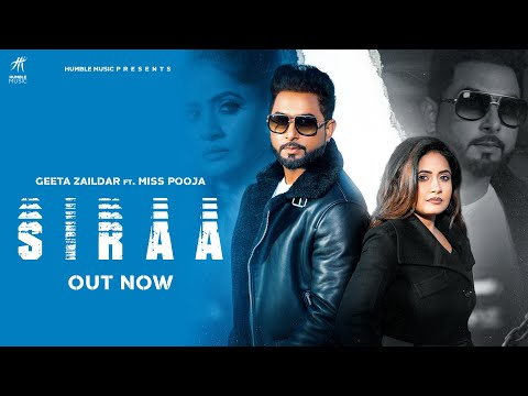 Siraa punjabi Lyrics Geeta Zaildar | Miss Pooja
