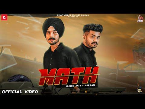 Math (ਮੈਥ) punjabi song Lyrics Bukka Jatt